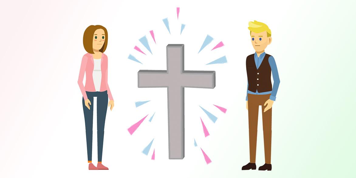 Er sucht sie christ